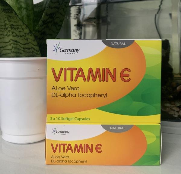 Bổ sung vitamin e đẹp da chống lão hoá da hộp 30v, sản phẩm chất lượng, đảm bảo an toàn sức khỏe người sử dụng, cam kết hàng giống hình giá rẻ
