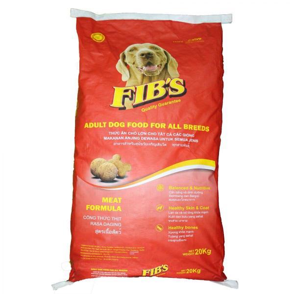 HN - FIBS - Bao 20kg (xá)- thức ăn cao cấp dạng hạt cho MỌI LOẠI CHÓ (trên 10kg) fib chó trưởng thành