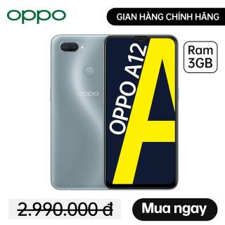 Điện thoại OPPO A12 (3GB/32GB) - Hàng chính hãng Bảo hành 12 tháng