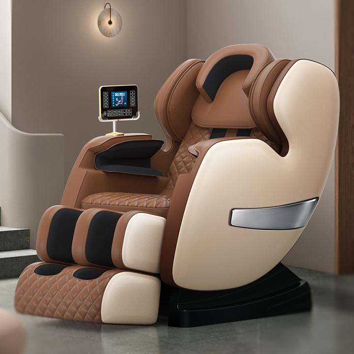 Ghế massage đa năng toàn thân HAPO tại nhà, ghế massage trục SL công nghệ Hàn Quốc, Massage hồng ngoại - không trọng lực làm giảm đau nhức xương khớp, cơ bắp