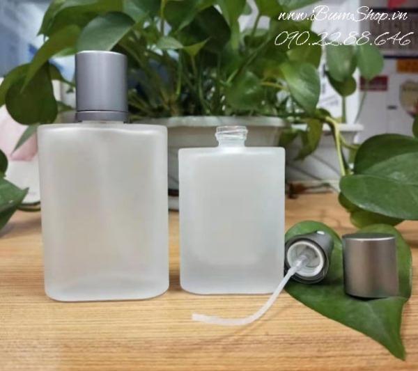 Chai chiết nước hoa 50ml nhám mờ sang chảnh