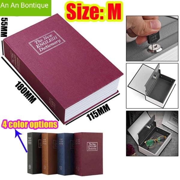 [Hot Trend] Két Sắt Mini Hình Quyển Sách Cao Cấp, Két Sắt Mini Giả Từ Điển Thiết Kế Nhỏ Gọn, Thông Minh, Tiện Lợi [Bảo Hành Lỗi 1 Đổi 1]