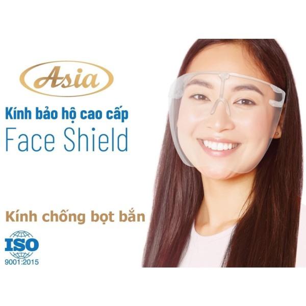 Giá bán Combo 2 cái kính bảo hộ Face Shield, hãng Asia, Kính bảo hộ hàng Việt Nam chất lượng cao, mẫu mã đẹp, chắc chắn, không gây đau mát, sản phẩm được phân phối chính hãng