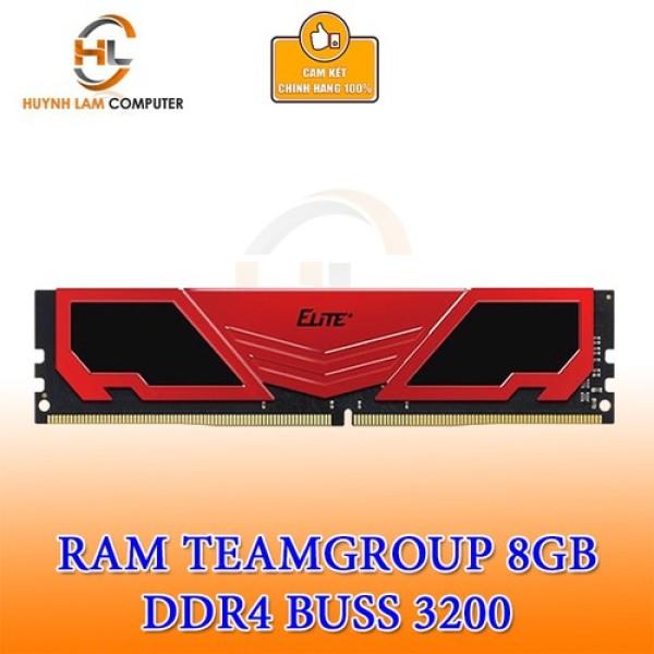 Bảng giá Ram 8GB Team Elite DDR4 3200MHZ Tản Đỏ Chính Hãng Networkhub Phân phối Phong Vũ