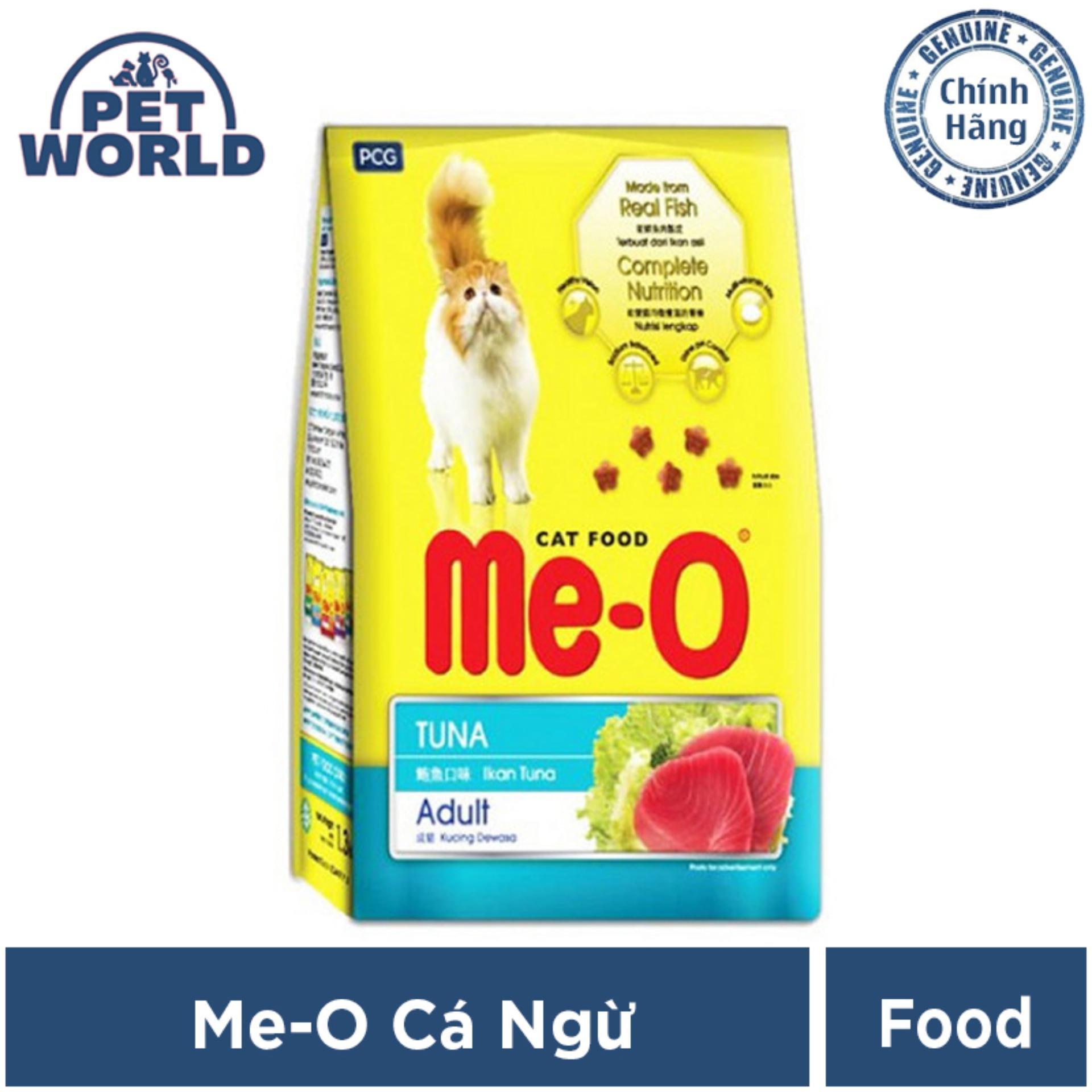 Thức ăn Cho Mèo Trưởng Thành Me-O - Vị Cá Ngừ- Dạng Túi 7kg (gồm 20 Túi) Có Giá Tốt