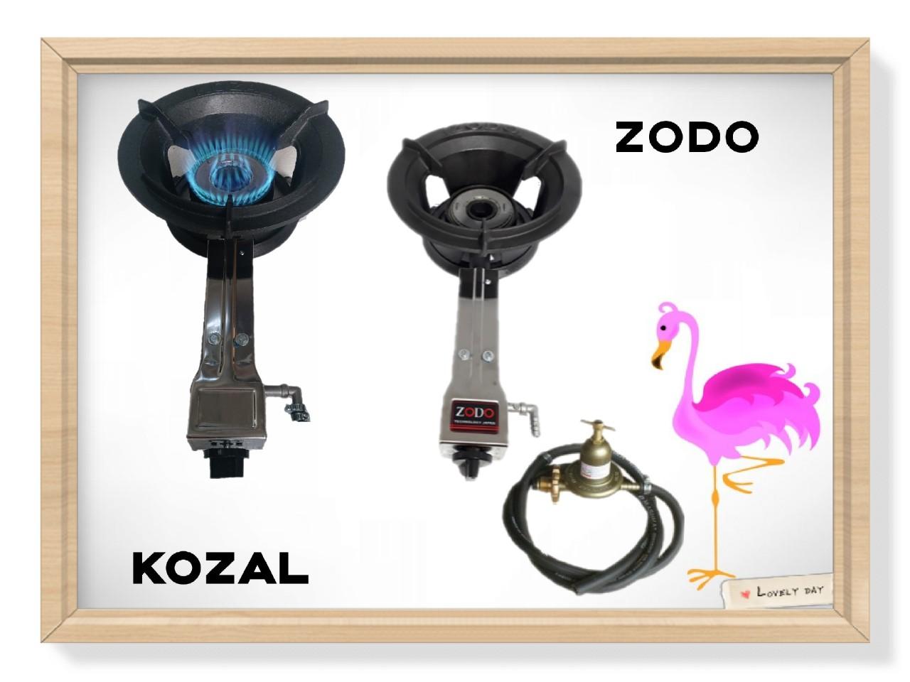 Bộ Bếp Gas Công Nghiệp ZODO..HIKUSHI_Tặng Kèm Van Dây (Trọn Bộ )