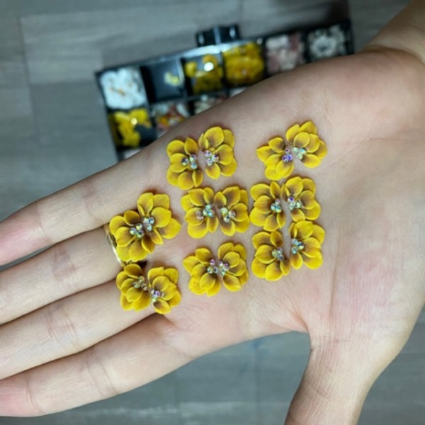 2Hoa bột làm nail siêu rẻ giá rẻ