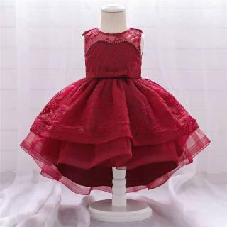 Nileafes Váy Công Chúa Bán Váy Cho Trẻ Em Gái 3 Kiểu Váy Bé Gái Không Tay Váy Ren Hoa Cô Gái Dự Tiệc Cưới Cho 4-10 Năm