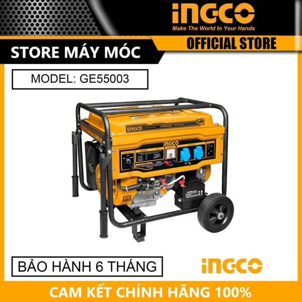 Máy phát điện động cơ xăng 5.5KVA INGCO GE55003 - HÀNG CHÍNH HÃNG