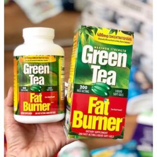 VIÊN UỐNG GIẢM CÂN TỪ TRÀ XANH GREEN TEA FAT BURNER - GIẢM CÂN AN TOÀN, SỐ 1 TẠI MỸ - 7508 thumbnail