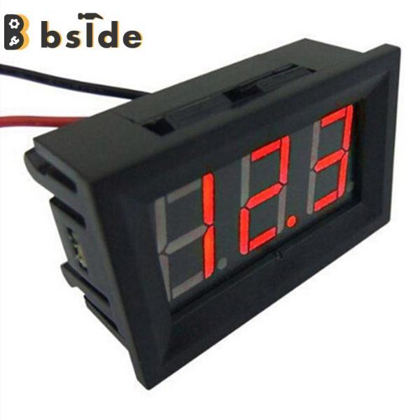 Bảng giá [Bside Tool Store] Mini 0.36in DC 2.4V-30V 2-Dây Kỹ Thuật Số LED Màn Hiển Thị Điều Khiển Vôn Kế Chạy Bằng Pin