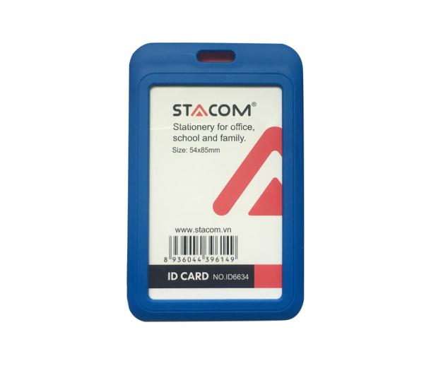 Thẻ đeo bảng tên cao cấp STACOM - ID6634