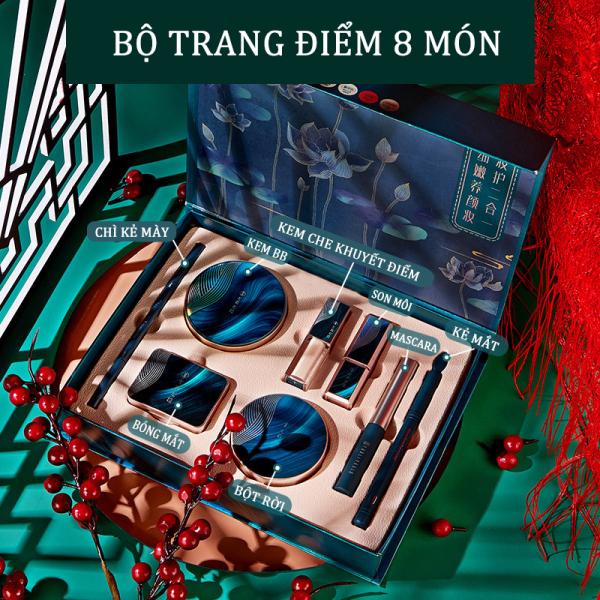 Bộ trang điểm Jade Face Beauty Set 8 MÓN LÀM QUÀ TẶNG CỰC SANG CHẢNH