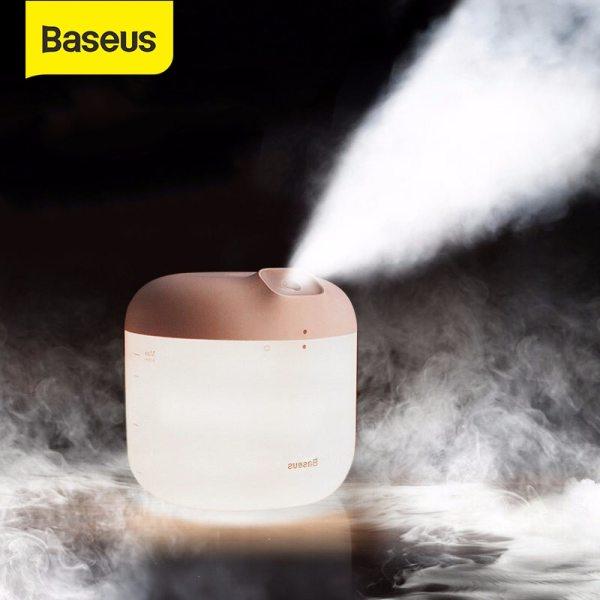 Máy phun sương tạo độ ẩm Baseus H600ml khuếch tán cho Văn Phòng Nhà Lớn Xịt Thông Minh Máy Tạo Độ Ẩm Không Khí có ĐÈN LED Đèn Ngủ