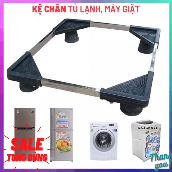 Bảng giá Chân Đế Đỡ Máy Giặt Tủ Lạnh, Kệ Để Chân Máy Giặt, Tủ Lạnh Inox - Thanh Inox Để Cao Su Chống Ồn, Rung Lắc Điện máy Pico