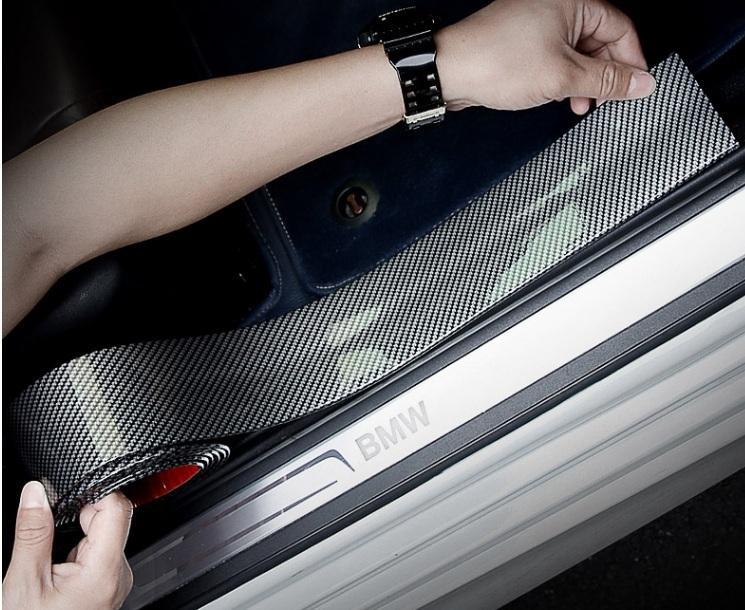 Nẹp Carbon Trang Trí Xe Và Chống Trầy Xước -Bản 7cm