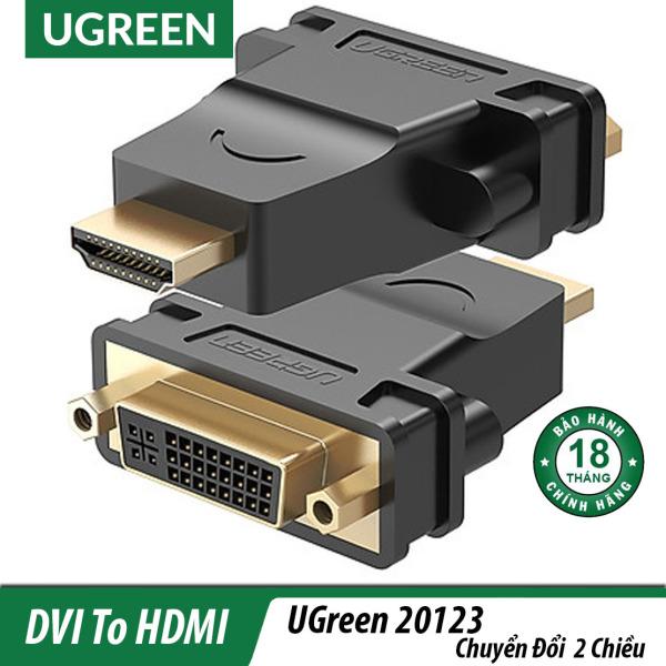 Bảng giá Đầu chuyển dvi (24+1) ra hdmi cao cấp Ugreen 20124, là dòng sản phẩm chất lượng trên thị trường hiện nay, kết nối hiệu quả, đa dạng thiết bị, tuổi thọ lâu dài Phong Vũ