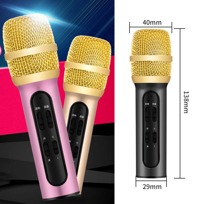 Micro Thu Âm- Micro Karaoke- Sound Card- Bộ Micro C11 Live Stream, Hát Karaoke Chuyên Nghiệp Mới, Đầy Đủ Phụ Kiện Tai Nghe, Cáp Sạc, Dây Live, Dây Lấy Nhạc- Thu Âm Cực Chuẩn, Pin Khỏe Dùng 6-10 Giờ, Hát Cực Đã