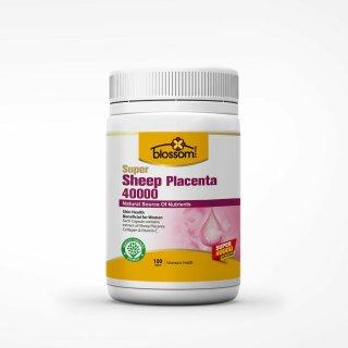 Viên Uống Đẹp Da Nhau Thai Cừu Thế Hệ Mới Blossom Super Sheep Placenta 40000 100V thumbnail