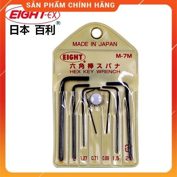 Bộ lục giác siêu nhỏ Eight Nhật M-7M - Lục giác điện tử mini sửa chữa điện tử