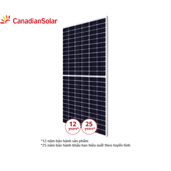 Tấm pin năng lượng mặt trời CANADIAN 450W