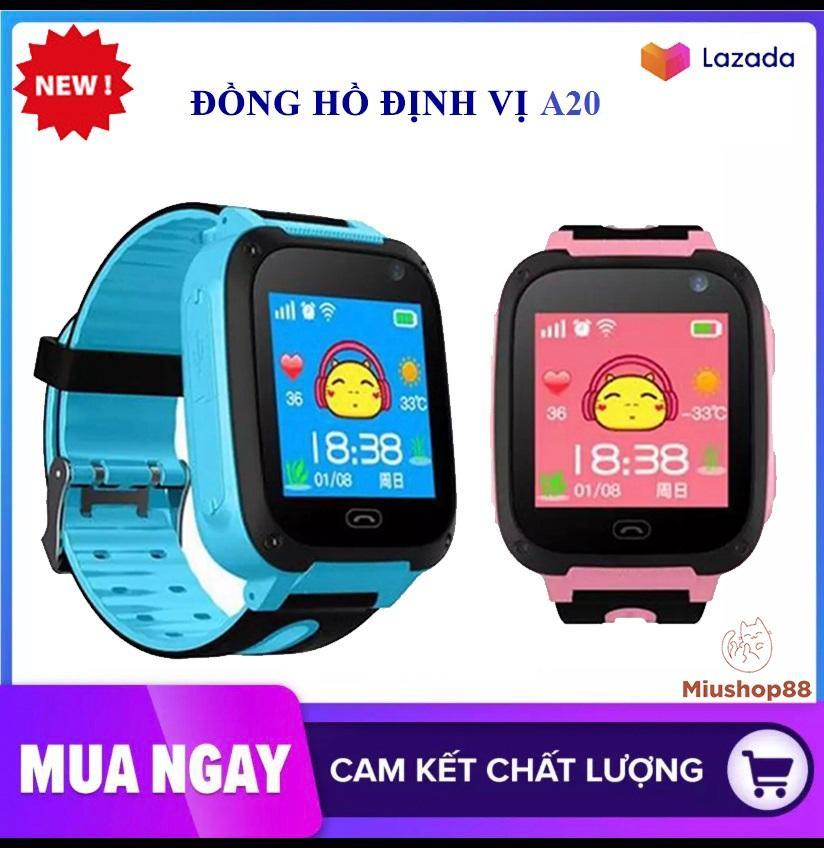 [Tiếng việt] Đồng hồ định vị  trẻ em smartkid A20 Nghe gọi , Nhắn tin thoại hai chiều, độ chính xác cao,màn hình cảm ứng,SOS (đông hồ thông minh, smartwatch)