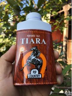 Phấn thơm Tiara Pop Country UV Protection Perfumed Talc 90g, phấm rôm Thái Lan thumbnail