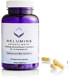 [HCM]Viên Uống Trắng Da Relumins Advance White 1650mg Của Mỹ 90 viên thumbnail