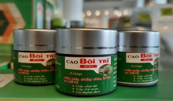 CAO BÔI TRĨ – Giúp cầm máu, chống viêm, hỗ trợ co búi trĩ