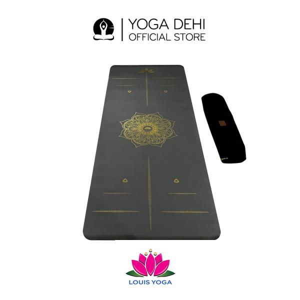 Thảm Yoga cao su chống trượt chính hãng Galaxy - YOGA DEHI