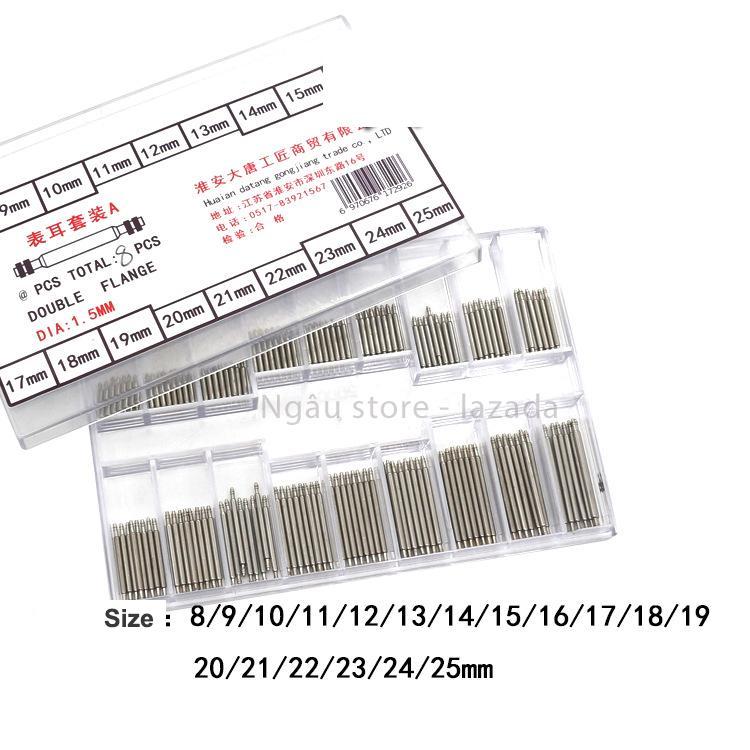 Nơi bán Hộp trục dây đồng hồ đeo tay 144 cái (8-25mm)
