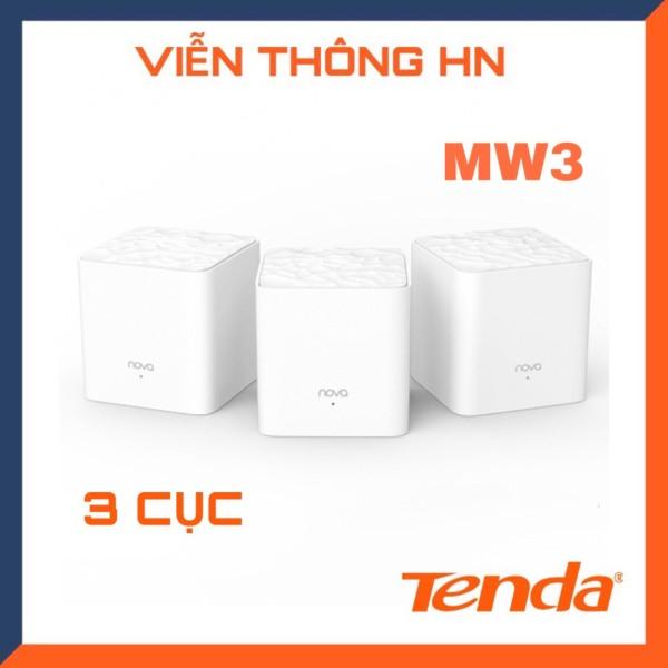 Bảng giá [Nhập ELAPR21 giảm 10% tối đa 200k đơn từ 99k]Tenda hệ thống wifi nova mesh cho gia đình mw3 chuẩn AC 1200Mbps - vienthonghn Phong Vũ