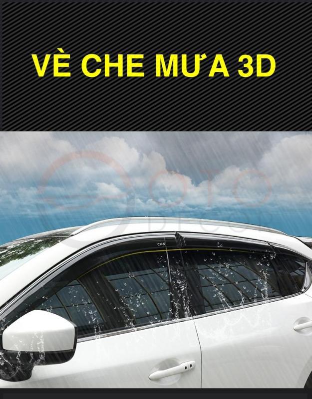 Vè che mưa 3D màu đen Mazda Cx-5 2018