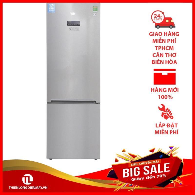 Tủ lạnh Beko Inverter 323 lít RCNT340E50VZX