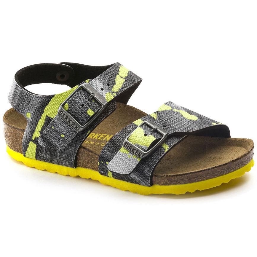 Birkenstock Sandal Màu vàng New York BCK1003228 KID giá rẻ