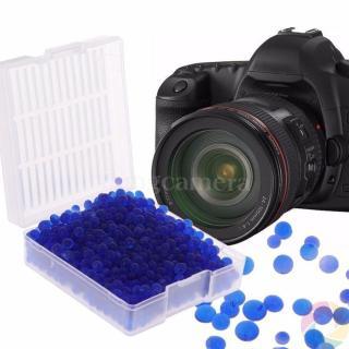 Hộp 50g hạt hút ẩm XANH cho máy ảnh thumbnail