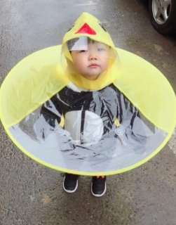 Áo mưa nón siêu kute cho bé(giao màu ngẫu nhiên)