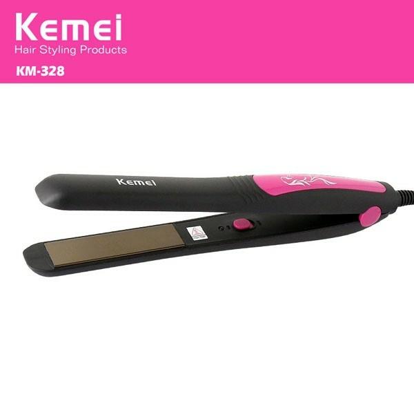 Máy duỗi tóc KEMEI 328 - Hàng nhập khẩu