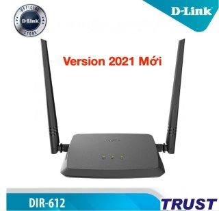 Bộ phát wifi N 300Mbps Wilreless Router D-LINK DIR-612 - Version Mới 2021 - Hàng chính hãng thumbnail