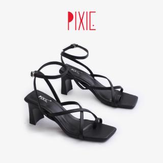 Giày Sandal Cao Gót 5cm Xỏ Ngón Pixie X753 thumbnail
