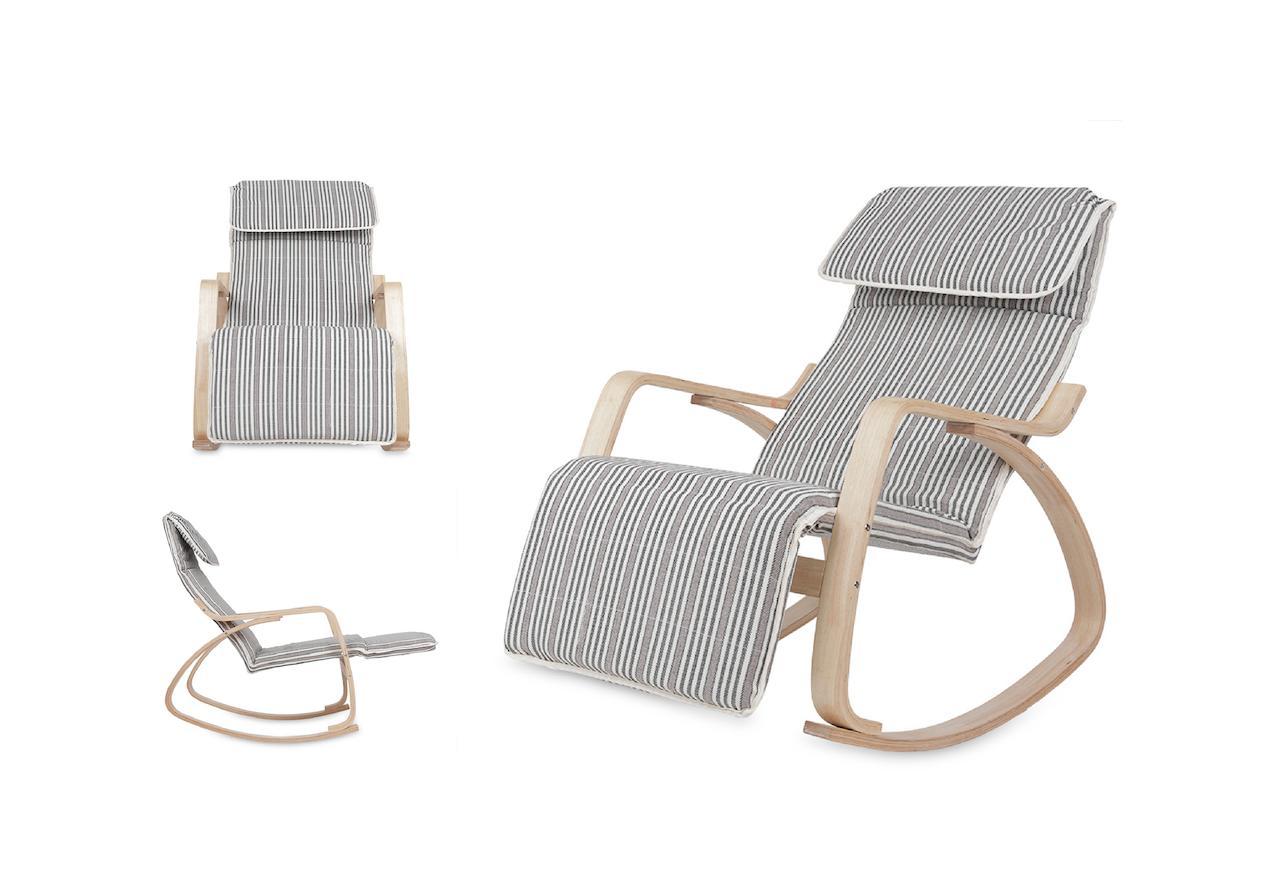 Ghế Bập Bênh Thư Giãn Ngả Lưng Thoải Mái Mncl-Relax-A1 (nhiều Màu) By Mina Furniture.