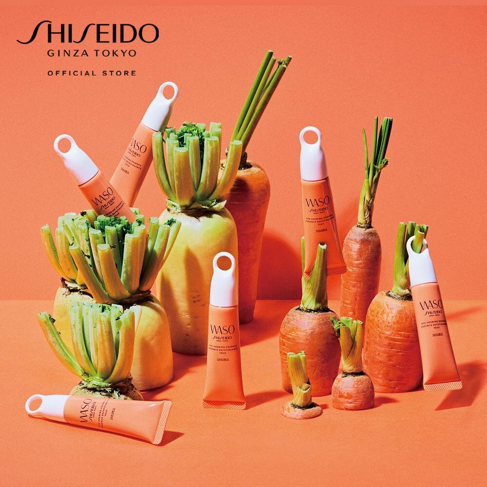 Tinh chất dưỡng mắt Shiseido WASO Eye Opening Essence 20ml