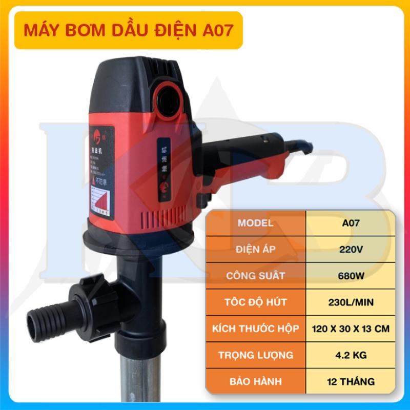 Bơm dầu nhớt điện 220V 680W (A07)