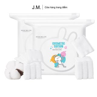 bông tẩy trang cotton pads 3 lớp hộp 150 mie ng thumbnail