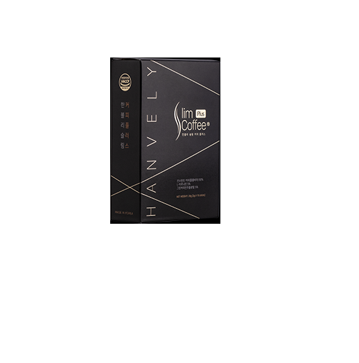 Cà phê giảm cân Hanvely Slim Coffee Plus - hộp 10 gói nhập khẩu