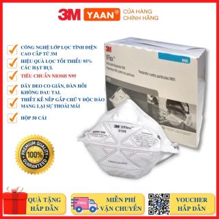 Khẩu Trang Bảo Vệ Hô Hấp 3MTM 9105 tiêu chuẩn N95 - YaanSafety thumbnail