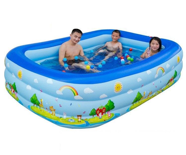Offer Khuyến Mại Phao Bơi 3 Tầng 1.5m Cho Bé Thỏa Sức đam Mê Bơi Lội