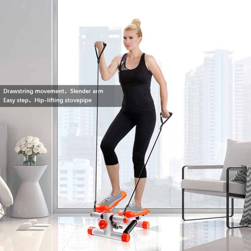 OneTwoFIt  Máy tập thể dục đi bộ đa chức năng LCD (có điện trở) tập thể dục đùi và eo nhỏ