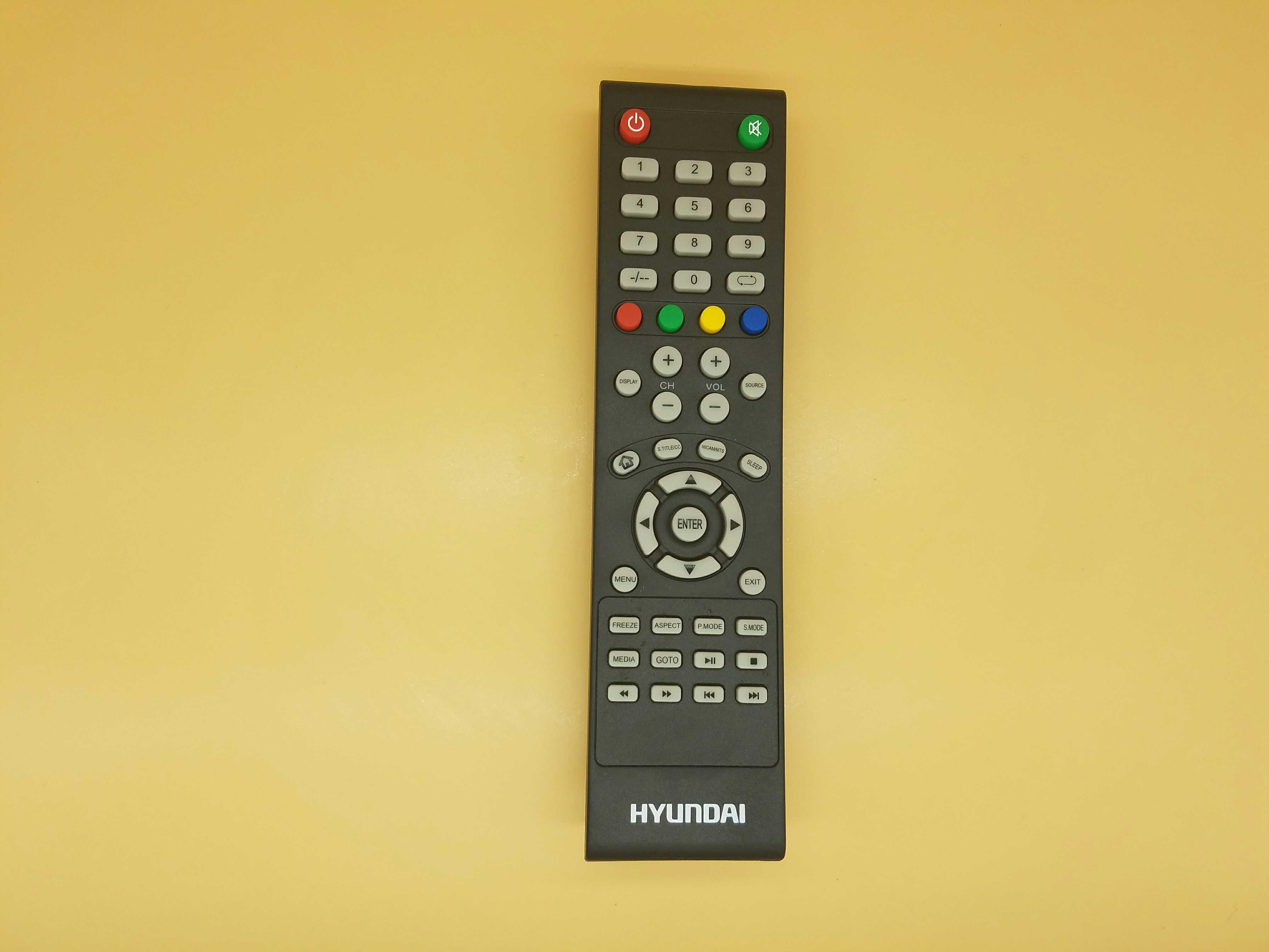 Product Original Factory Origional Product Hyundai HYUNDAI English Export Liquid Crystal TV Remote Control with Shape Universal