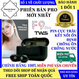 Tai Nghe Bluetooth F9 PRO, Tai Nghe Bluetooth Không Dây Pin Trâu 2000 Mah, Chống Ồn, Micro HD, Âm Thanh 9D, Hỗ Trợ Mọi Dòng Máy - Tai Nghe Bluetooth Không Dây Amoi F9 - Tai Nghe Bluetooth Mini, Tai nghe nhét tai không dây thumbnail